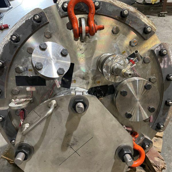 ASME Pressure Vessel Strain Gauging
